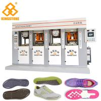 Buy cheap Static Shoe Sole Injection Moulding Machine , TPU TPR TR PVC Sole Making Machine from wholesalers