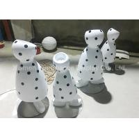 Buy cheap Black Dot Patterns Flower Pot Statues With Polished Surface Treatment from wholesalers