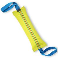 Buy cheap Handmade Dog Bite Tug Toy , Interactive Dog Toys With 2 Strong Handles from wholesalers