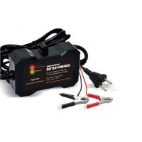 Buy cheap Lead Acid car battery portable charger 12V , 1.5 electric car battery charger product
