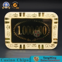 Buy cheap Transparent Acrylic Crystal Casino Poker Chips Table Accessories from wholesalers