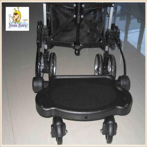 China Black Suspension Child Buggy Board For Stroller , Baby Stroller Board on sale