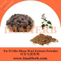 Buy cheap fo-ti extract he shou wu extract,Polygonum multiflorum extract in stock from Felicia@imaherb.com from wholesalers