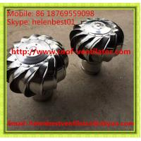 Buy cheap 100mm wind driven turbine ventilator fan for ventilation tube stainless steel SS304 from wholesalers