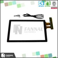 Buy cheap 15.6 Inch G+G Large Format Capacitive Touch Screen Panel With EXC7200 Driver IC from wholesalers