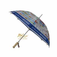 Buy cheap Cheap straight automatic advertising umbrella from wholesalers