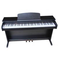 Wholesale 88 key NEW digital piano with hammer action keyboard Melamine shell W8820B from china suppliers