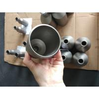 Buy cheap Surface Finished Titanium Alloy Pipe Fittings Concentric Pipe Reducer ASME B16.9 from wholesalers