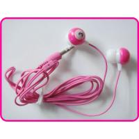 Buy cheap Professional Noise Cancelling Digital Colorful Pink MP3 Earphones, In-Ear Wired Sound Isolating Earphones from wholesalers