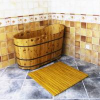 Buy cheap Customized WPC Wood Shower Floor WPC Bathroom Decking 60cm x 40cm from wholesalers