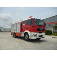 Buy cheap Multi Functional Motorized Fire Truck Road Max Speed 90KM/H Wheelbase 5100mm from wholesalers