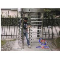 Buy cheap Brushed Stainless Steel Full Height Gate Qr Code Scanner Pedestrian Channel Management from wholesalers