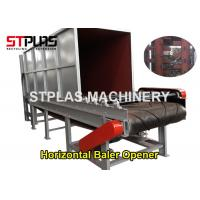 Buy cheap Plastic Bottles Baler Opener Machine / Bale Breaker For Plastic Washing Machine from wholesalers