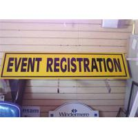 Buy cheap Personalized Custom PVC Signs , Business Advertising Signs Light Weight from wholesalers