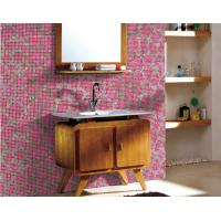 Bathroom walling mosaic design recycled glass mosaic pattern Manufactures