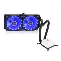 Buy cheap High Performance 12v 240 computer liquid cooler with 15LED fan from wholesalers