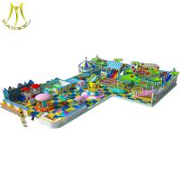 Buy cheap Hansel  kids indoor play equipment barbie games plastic playhouse for amusement park from wholesalers