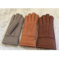 Buy cheap Merino Lambswool Lined Gloves , Womens Shearling Sheepskin Mittens Waterproof from wholesalers