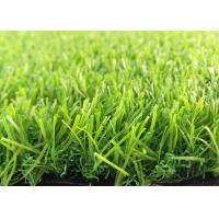 Buy cheap PE + PP Artificial Grass Synthetic Lawn Turf / 45 Mm Height Fake Football Grass from wholesalers