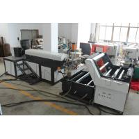 Wholesale Light Weight Plastic Strip Making Machine , PP / HDPE Rope Maker Machine from china suppliers