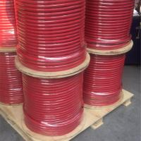 Wholesale Wooden Reel Packed Air Water Hose Black Red General Purpose 300 Psi WP from china suppliers