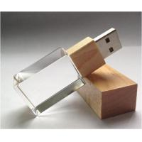 Bamboo Drive Available Usb Keychain Flash Drive 64MB-64MB 57*17*10cm with Laser Logo