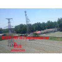 Buy cheap MEGATRO 110KV 1A4 J1 tension transmission tower;megatro transmission steel tower;angle steel tower of 110kv line power from wholesalers