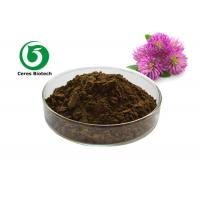 Buy cheap Fine Red Clover Extract Isoflavones 20% 40% Healthy Herbal Extract Anti Spasm from wholesalers