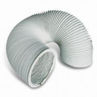 Wholesale PVC Flexible Air Duct, Used for Ventilation System, Available in White from china suppliers