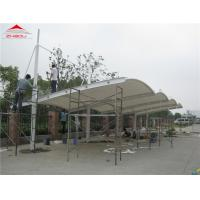Buy cheap Wind - Resistant Outdoor Car Canopy For 2 / 3 Cars Over 20 Years Life Span from wholesalers