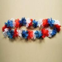 Buy cheap Hawaii Leis/Wreath, Made of Polyester, Suitable for Decoration, Available in Different Colors from wholesalers