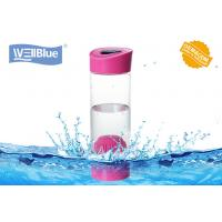 China Food Grade Pink Alkaline Ionized Water Bottles For Daily Water Purify on sale