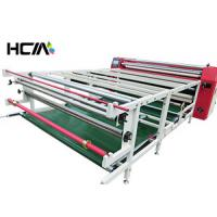 Professional Roller Heat Printing Machine , Oil Heating Textile Sublimation Printing Machine