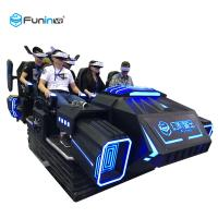 Buy cheap Dynamic Motion Chairs 9D VR Simulator Family Electric System With Six Seats from wholesalers