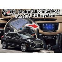 Buy cheap GPS Android navigation box video interface for Cadillac XT5 video from wholesalers