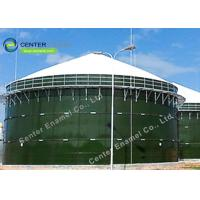 China Glass Fused To Steel Waste Water Storage Tanks  Vitreous Enamel Coating Process on sale