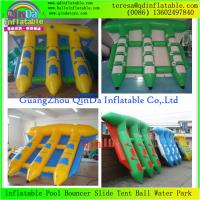 Wholesale Hot Selling Water Sport Water Games Double Tubes Inflatable Fly Fish Boat / Water Flyfish from china suppliers