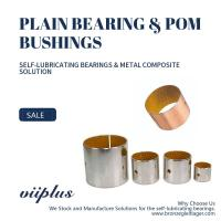 Buy cheap Metal Polymer Bearings Solution With Hole Slit Bushing In Accordance With RoHS from wholesalers