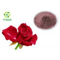 Buy cheap Rose Petal Extract Natural Cosmetic Ingredients Rose Flower Powder For Skin Beauty from wholesalers