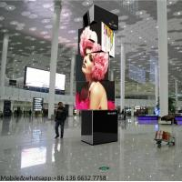 China standing led screen 360 degree advertising spinning led display on sale