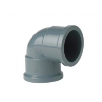 Buy cheap PVC Female Coupling 90 Bend  63mm Ductile Iron Pipe Fittings from wholesalers