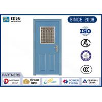 Wholesale Soundproof Single Leaf Fireproof Entry Doors With Inlayed Fire Expansion Strips from china suppliers