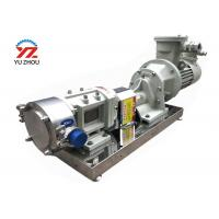 Buy cheap High Viscosity Explosionproof Rotary Lobe Pump For Transfer Liquid Food 3RP Series from wholesalers