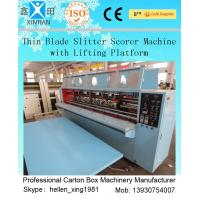 Buy cheap Cardboard Thin Knife Carton Cutting Machine With Pressed Corrugation from wholesalers