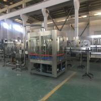 Buy cheap Mineral Water Automatic Water Filling Machine 15 Capping Heads High Speed Filling Valve from wholesalers