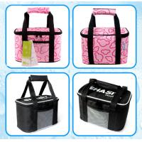 Buy cheap colorfull prints picnic time lunch bag, picnic bag,cooler bag, keep cost hold hot bottle cooler bag and ice packs for br from wholesalers
