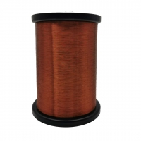 Buy cheap AWG 50 0.025mm Ultra Fine Self Bonding Enameled Magnet Wire CCA wire For Voice Coil from wholesalers