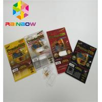 Buy cheap Premierzen Blister Card Packaging Custom Child Resistant Botton Lock 3D Card Paper Box from wholesalers