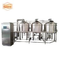 Buy cheap 500l 1000l 1500l beer equipment steam heating beer brewery system from wholesalers