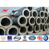 Buy cheap Spun Prestressed Concrete Electric Pole Galvanization Transmission Line Steel Pole Distribution from wholesalers